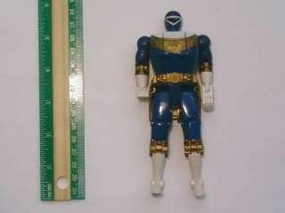 Power Rangers Zeo Blue Flip Head Sphynx Ranger Figure