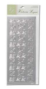 39 Silver Foil 25 25th Anniversary Stickers/Envelope Seals