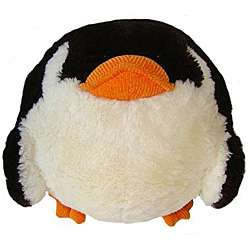 American Mills 7 inch Round Plush Penguin Pillow
