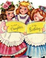 Vintage Refrigerator Magnet Birthday Daughter V32
