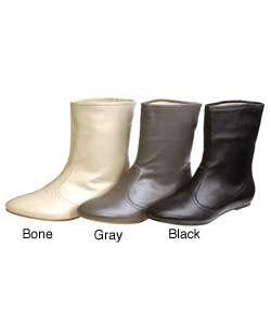Matiko CinCin Womens Ankle Flat Boots