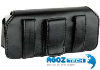 Leather Belt Clip Case Pouch fr Tracfone LG 800G LG800G