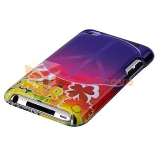 Pack Kit Set Hard Case Holder for Apple iPod Touch 4th Gen 4