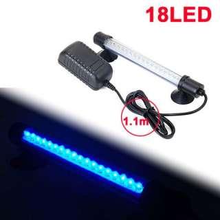 Aquarium Fish Tank Bar Blue LED Light Lighting Lamp New