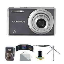 Olympus FE 4010 12 Megapixel Digital Camera with Deluxe Bonus Kit
