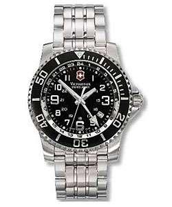 Swiss Army Maverick II Mens Dual Time Zone Watch