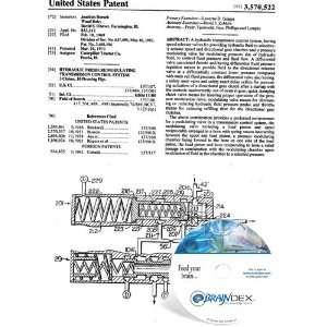 HYDRAULIC PRESSURE MODULATING TRANSMISSION CONTROL SYSTEM Everything