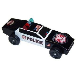 Turbo Cop Car Pinewood Derby Car Kit