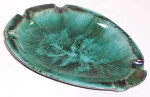 Blue Mountain Pottery Ashtray 3 TREES LOGO