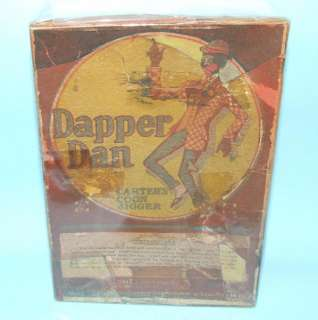 MARX DAPPER DAN COON JIGGER PORTER TIN WIND UP TOY & BOX