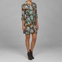MICHAEL Michael Kors Womens Butterfly Print Dress