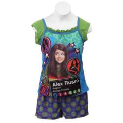 Disneys Wizards of Waverly Place Girls Pajamas