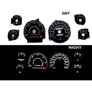 1994 1997 Dodge Ram 1500/2500 Black Indiglo Glow Gauge 94