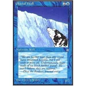 Magic the Gathering   Glacial Wall   Ice Age Toys & Games