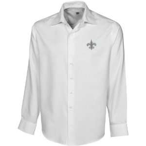 & Buck New Orleans Saints White Epic Long Sleeve Button Down Shirt