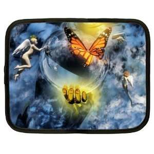 Brand New Laptop Netbook Notebook XXL Case Bag Insect Butterfly Fly
