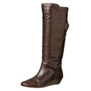 Steven by Steve Madden Womens Iden Brown Wedge Boots FINAL SALE