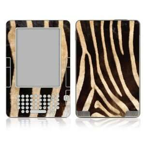 Zebra Print Decorative Protector Skin Decal Sticker for  Kindle