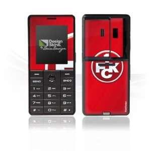 Design Skins for LG KG320S   1. FCK Logo Design Folie