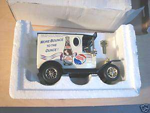 GOLDEN WHEEL (PEPSI COLA.) DELIVERY TRUCK BANK.MIB