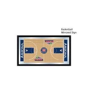 University of Arizona Wildcats NCAA Basketball Mirrored