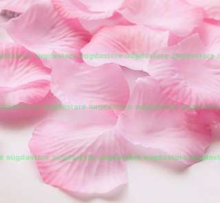 1000pc wedding petals flower red rose silk party decoration gift