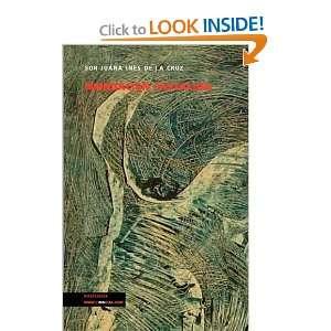 ) (Spanish Edition) (9788498974140) sor Juana Ines de la Cruz Books