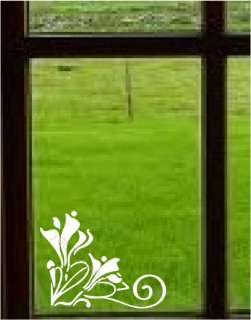 Scroll Vinyl Wall Window Stickers Decal Border Decor