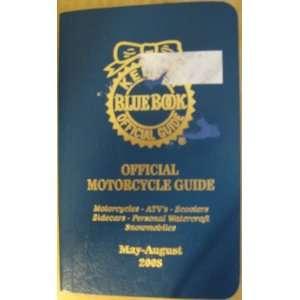 Motorcycle Guide 2008 (May August, Vol 32) Kelly Bule Book Books