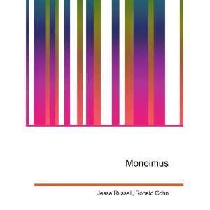 Monoimus Ronald Cohn Jesse Russell Books