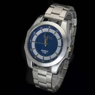 Hot Selling Quartz Movement Mens Charming Stainless Steel Wrist Watch