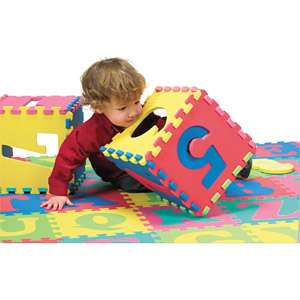 Chenille Kraft Wonderfoam Letters and Number Puzzle Mat