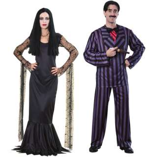 Addams Family Adult Halloween Costume Value Bundle: Halloween