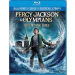 Jackson & the Olympians The Lightning Thief DVD or Blu ray with Book