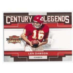 2010 Panini Threads Century Legends #3 Len Dawson