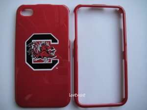 OFFICIAL NCAA South Carolina Gamecocks HARD CASE COVER iPHONE 4 4G 4S
