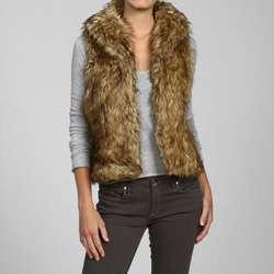 affaire Couture Womens Faux Fur Vest
