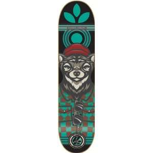 Angel Manimal Deck 8.25 P2 Weasel Skateboard Decks: Sports & Outdoors