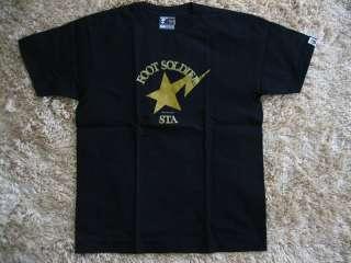 Authentic A Bathing Ape FOOT SOLDIER t shirts nigo kaws