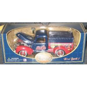Pepsi 1940 Ford Die Cast Delivery Truck Bank: Toys & Games