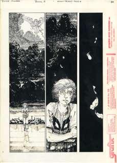 MICHAEL ZULLI Alice Cooper #2 p20 ORIGINAL COMIC ART Neil Gaiman