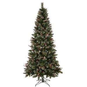 Christmas Tree w/ 250 Multi color Mini Lights 532T w/ Tree Storage Bag