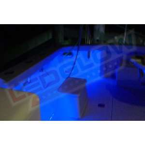 2pc Blue LED Boat Deck & Cabin Lighting Kit: Sports & Outdoors