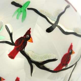New Christopher Radko Rare Cardinal Christmas Red Bird Tree Winter