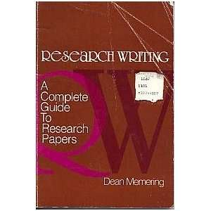Research Writing: A Complete Guide to Research Papers