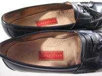 Cole Haan CITY Tassle Loafer Dress Shoes Black Leather Mens 13B 13 B
