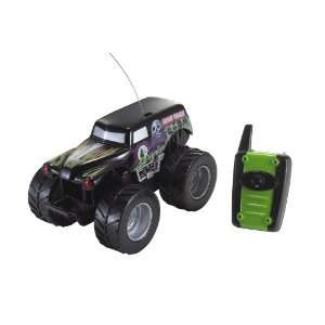 Hot Wheels Monster Jam Big Rides   Grave Digger Toys