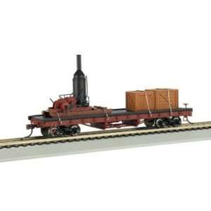 Bachmann Trains Log Skidder with Crates On 40 Log Car: Toys & Games