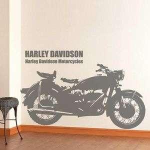 Wallpaper Graffiti Wall Glass Sticker Decal Motorcycle