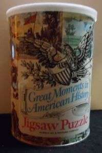 1969 HUMBLE OIL Vinage Jigsaw Puzzle AMERICAN HISORY |